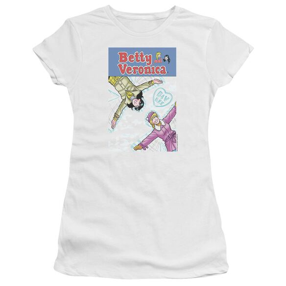 Archie Comics Cover 257 Snow Angels Short Sleeve Junior Sheer T-Shirt