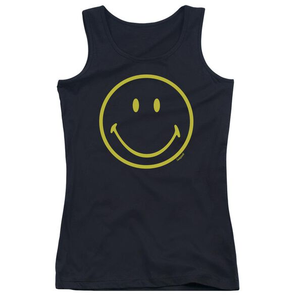 Smiley World Yellow Line Smiley Juniors Tank Top