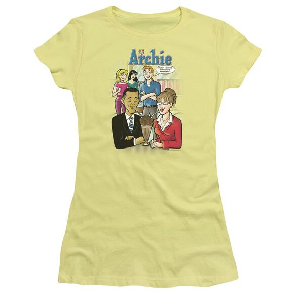 Archie Comics Anything's Possible Hbo Short Sleeve Junior Sheer T-Shirt