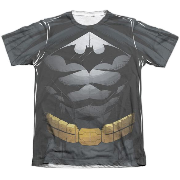 Batman Uniform Adult Poly Cotton Short Sleeve Tee T-Shirt