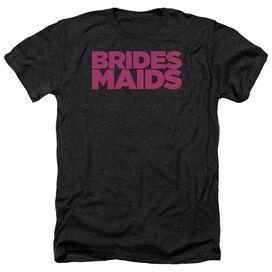 Bridesmaids Logo - Adult Heather - Black