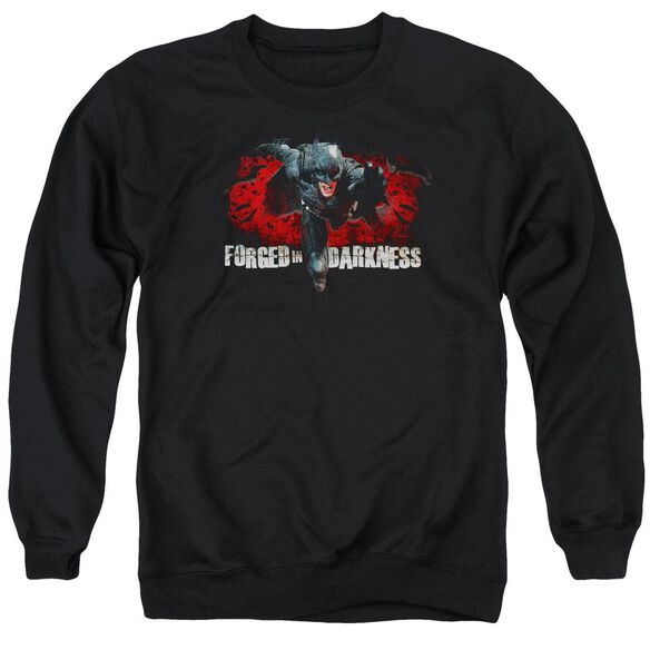 Dark Knight Rises Forged In Darkness Adult Crewneck Sweatshirt