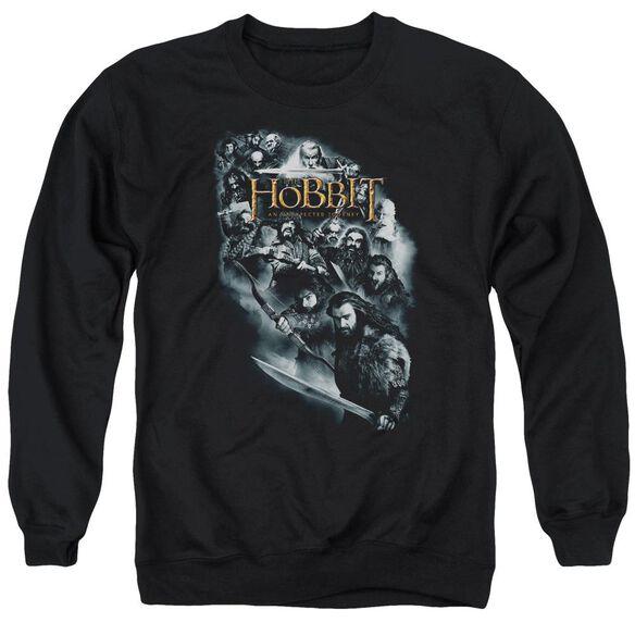 The Hobbit Cast Of Characters Adult Crewneck Sweatshirt