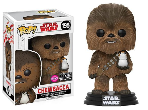 Flocked Chewbacca Exclusive Funko Pop