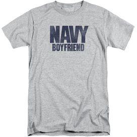 Navy Boyfriend Short Sleeve Adult Tall Athletic T-Shirt
