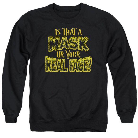 Mask Adult Crewneck Sweatshirt