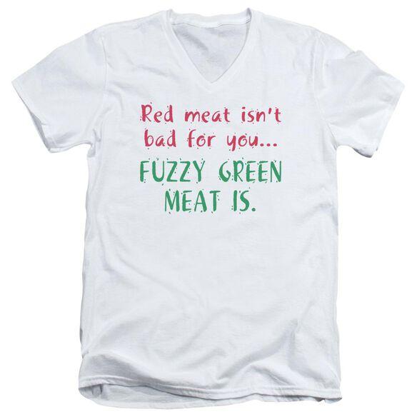 Red Meat Short Sleeve Adult V Neck T-Shirt
