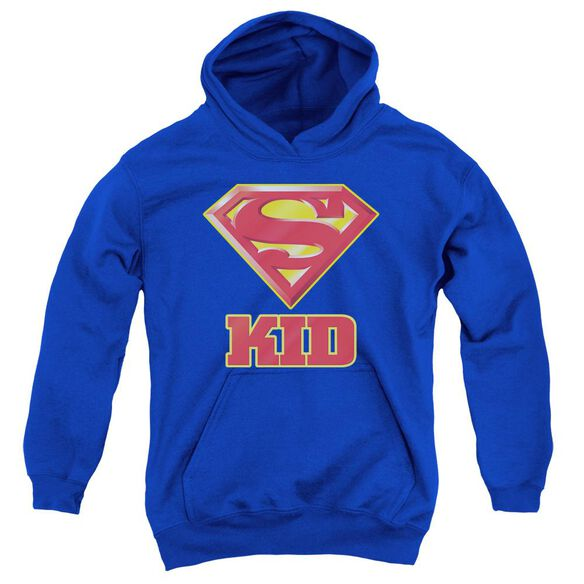 Superman Super Kid Youth Pull Over Hoodie