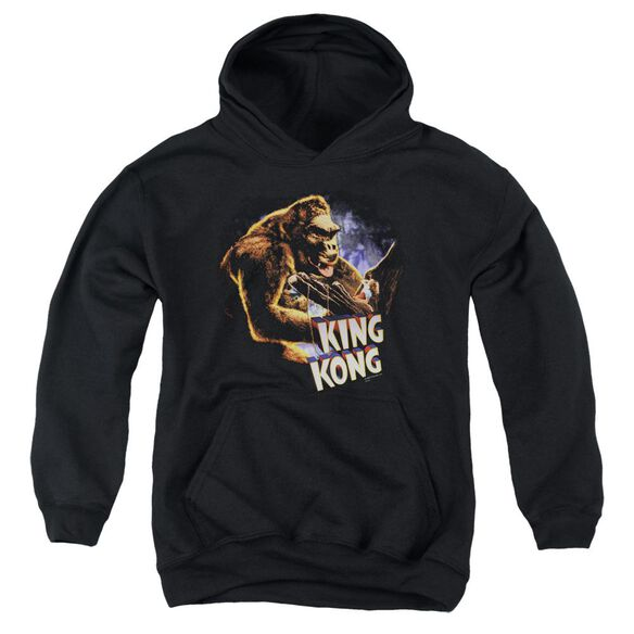 King Kong Kong And Ann Youth Pull Over Hoodie