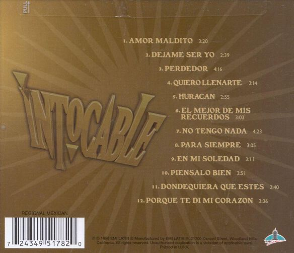 Intocable 698