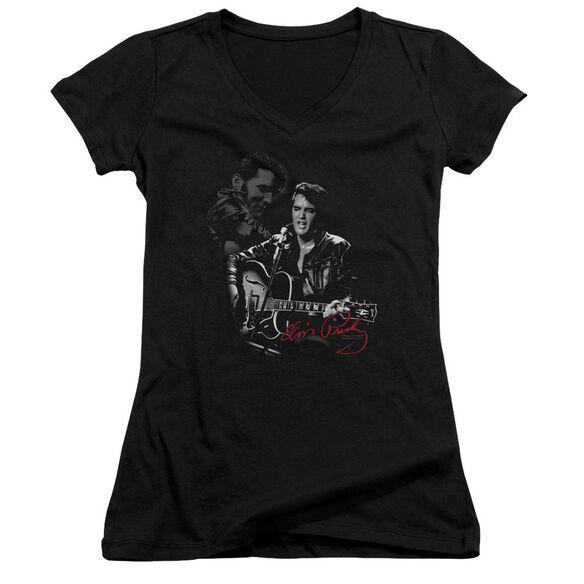 Elvis Show Stopper Junior V Neck T-Shirt