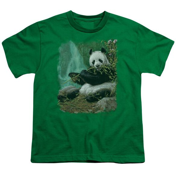 Wildlife Citizen Of Heaven On Earth Short Sleeve Youth Kelly T-Shirt