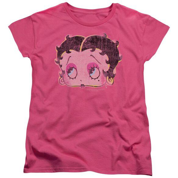 Betty Boop Pop Art Boop Short Sleeve Womens Tee Hot T-Shirt