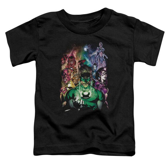 Green Lantern The New Guardians Short Sleeve Toddler Tee Black Lg T-Shirt
