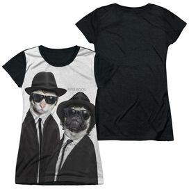 Pets Rock Brothers Short Sleeve Junior Poly Black Back T-Shirt