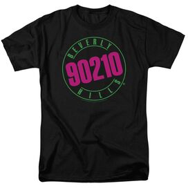 90210 Neon Short Sleeve Adult T-Shirt
