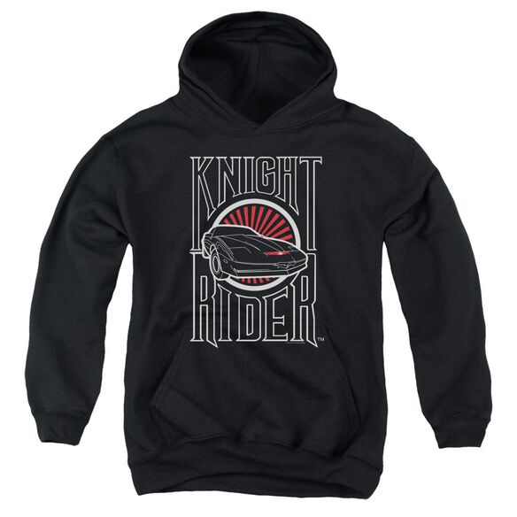 Knight Rider Logo Youth Pull Over Hoodie