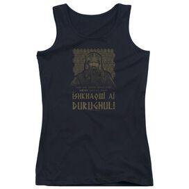 Lord Of The Rings Ishkhaqwi Durugnul Juniors Tank Top