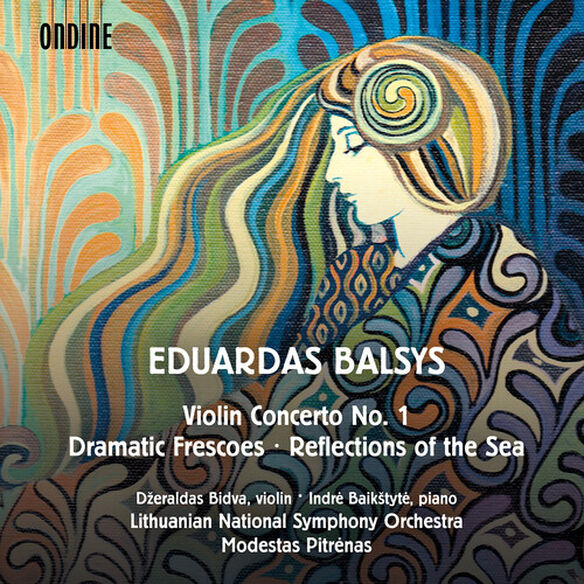 Balsys/ Bidva/ Pitrenas - Violin Concerto 1