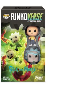 POP! Funkoverse: Rick and Morty 100 Strategy Game [Expandalone Set]