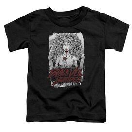 Black Veil Brides Coffin Queen Short Sleeve Toddler Tee Black T-Shirt