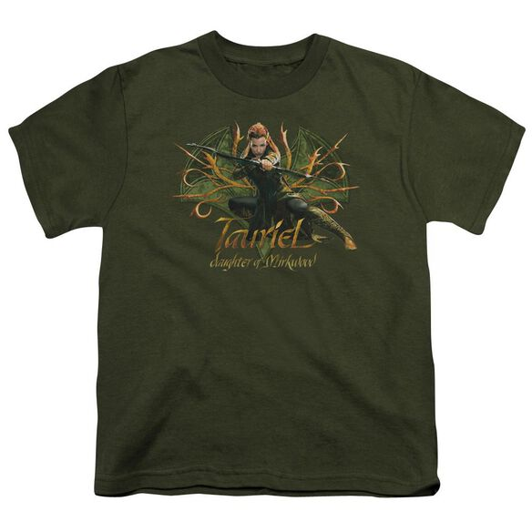 Hobbit Tauriel Short Sleeve Youth Military T-Shirt