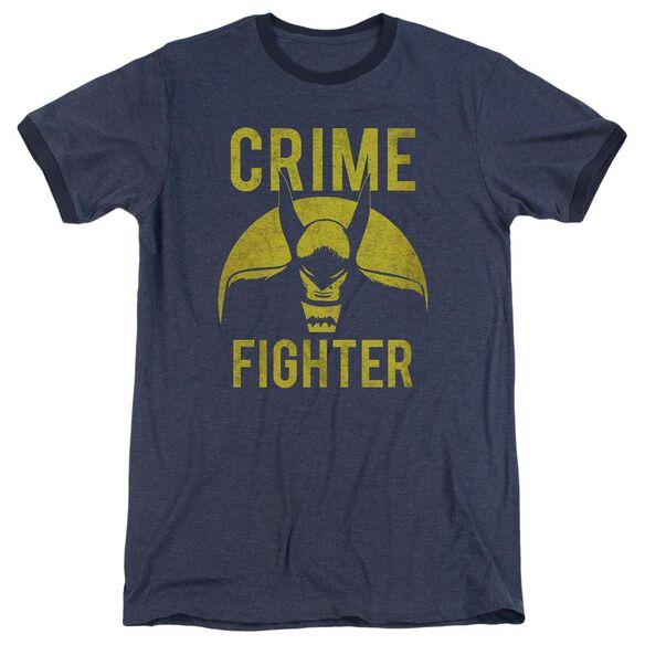 Dc Fight Crime Adult Heather Ringer Navy