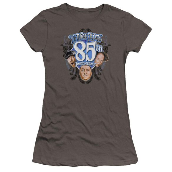 Three Stooges 85 Th Anniversary 2 Premium Bella Junior Sheer Jersey