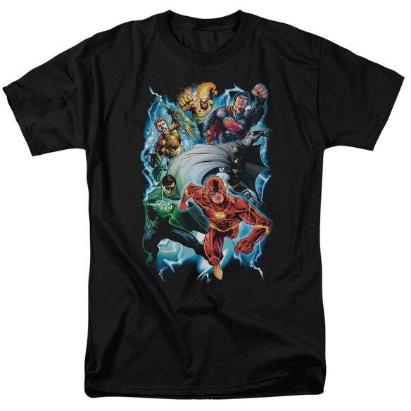 Jla Electric Team Short Sleeve Adult T-Shirt