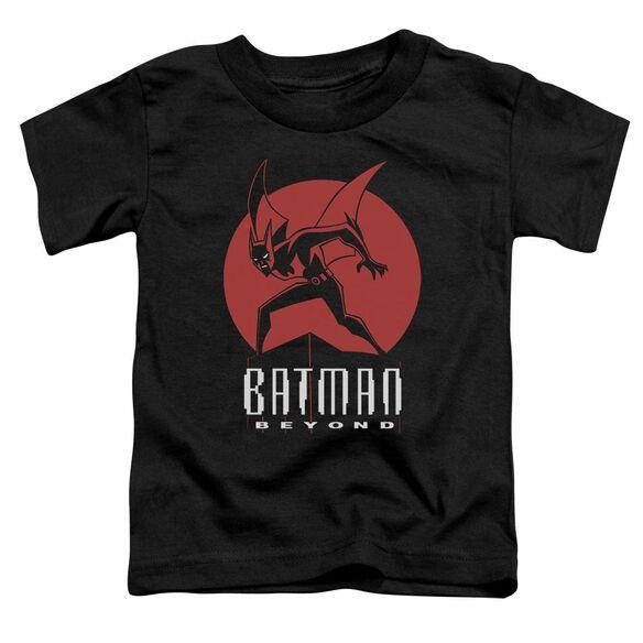 Batman Beyond Perched Short Sleeve Toddler Tee Black T-Shirt
