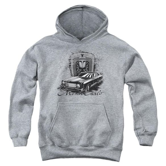 Chevrolet Monte Carlo Drawing Youth Pull Over Hoodie Athletic