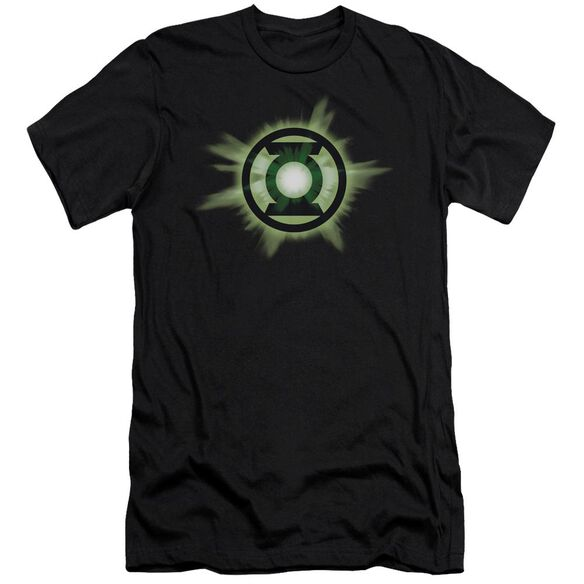 Green Lantern Green Glow Short Sleeve Adult T-Shirt