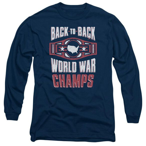 Ww Champs Long Sleeve Adult T-Shirt