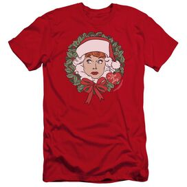I LOVE LUCY WREATH-PREMUIM CANVAS ADULT SLIM