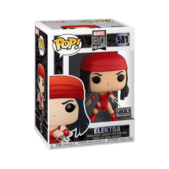 Funko Pop!: Marvel 80th - Elektra [First Appearance]