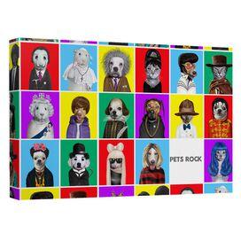 Pets Rock Color Blocks Quickpro Artwrap Back Board