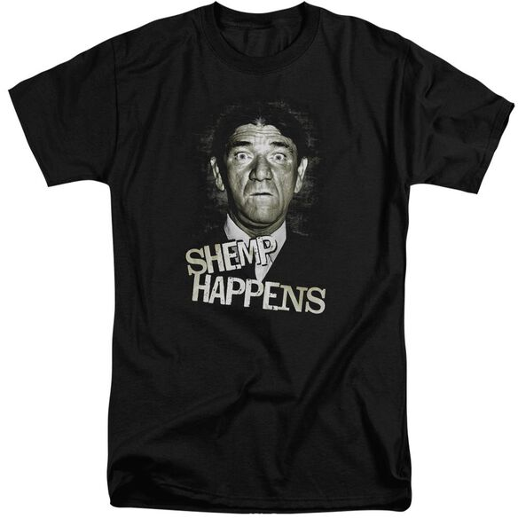 Three Stooges Shemp Happens Short Sleeve Adult Tall T-Shirt