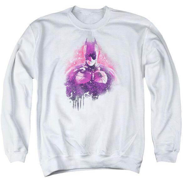 Dark Knight Rises Spray Bat Adult Crewneck Sweatshirt