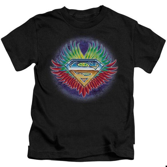 SUPERMAN DONT STOP BELIEVING - S/S JUVENILE 18/1 - BLACK - T-Shirt