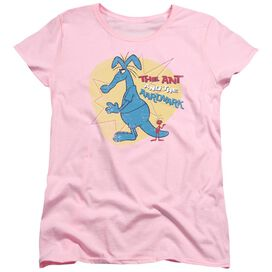 PINK PANTHER ANT AND AARDVARK - S/S WOMENS TEE - PINK T-Shirt