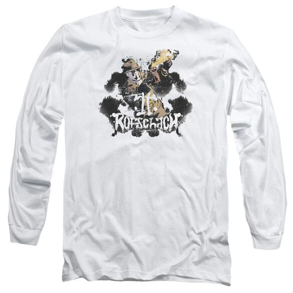 Watchmen Rorschach Long Sleeve Adult T-Shirt