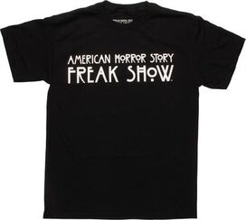 American Horror Story Freak Show Logo T-Shirt
