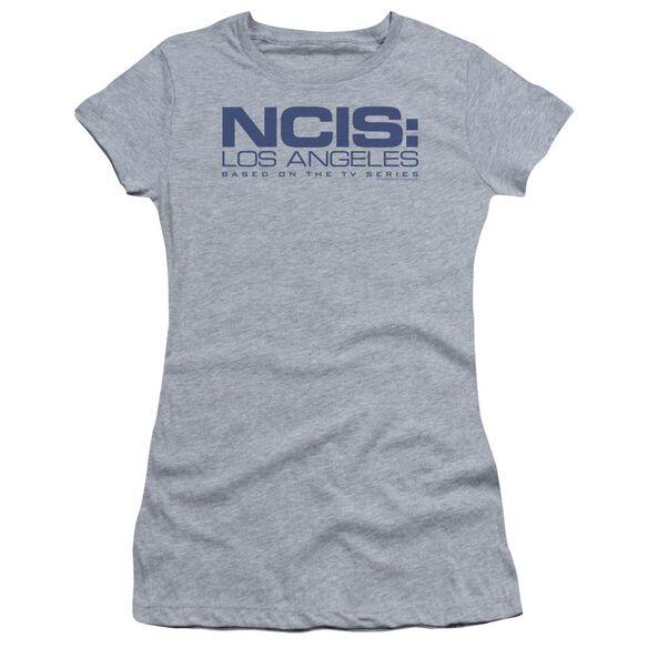 Ncis La Logo Short Sleeve Junior Sheer Athletic T-Shirt