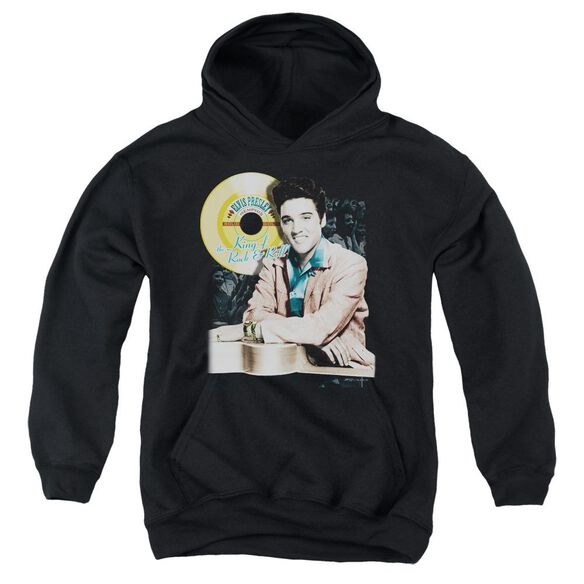 Elvis Presley Gold Record Youth Pull Over Hoodie