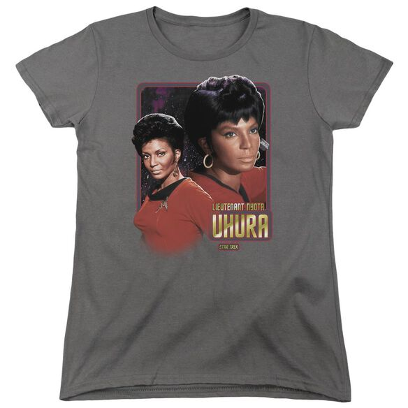 Star Trek Lieutenant Uhura Short Sleeve Womens Tee T-Shirt