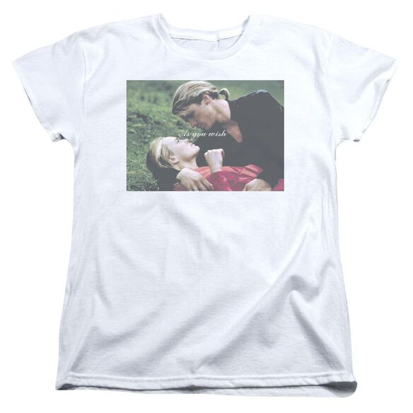 Princess Bride As You Wish Short Sleeve Womens Tee T-Shirt