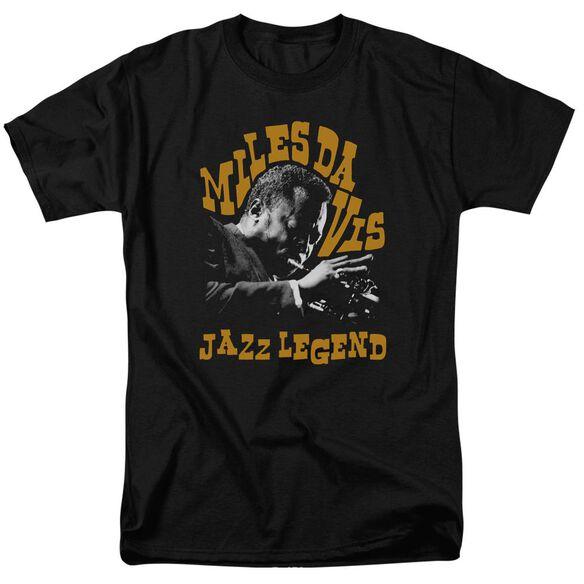 Miles Davis Jazz Legend Short Sleeve Adult T-Shirt
