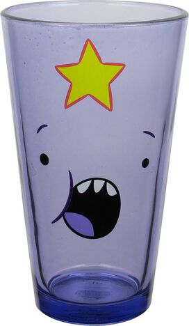 Adventure Time Character Faces Pint Glass Set