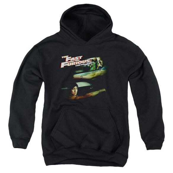 Tokyo Drift Drifting Together Youth Pull Over Hoodie