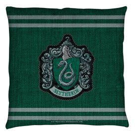 Harry Potter Slytherin Stitch Crest Throw